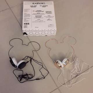 Mickey minnie head phones