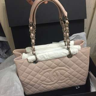 Chanel GST in light pink