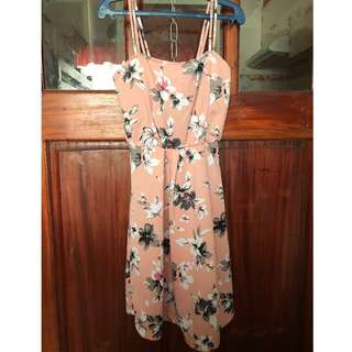 Brand new Pink floral dress
