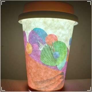 Coffee Cup Lamp LED 全新連盒, LED 咖啡杯燈+ 咖啡杯ㄧ隻6