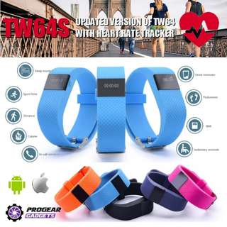PROMOTION!!! TW64S Heart Rate Monitor / Fitness / Smart Bracelet - Compatible with Android and iOS Smartphones