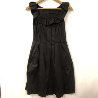 Miu Miu black dress size 38