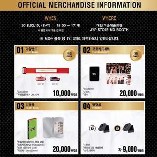 [QUICK PO] Day6 - Every Day6 Concert Official Goods