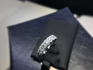 1.05cts diamond ring 18k白金