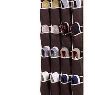16pocket door shoe organizer