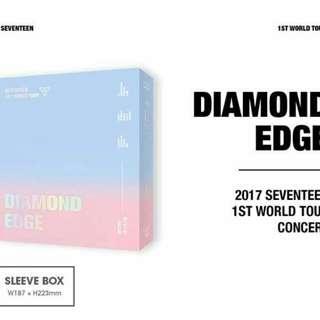 Seventeen - 1ST WORLD TOUR DIAMOND EDGE IN SEOUL CONCERT DVD