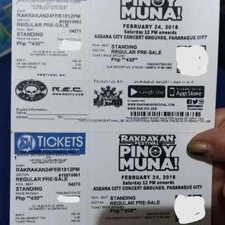 Rakrakan Festival Tickets