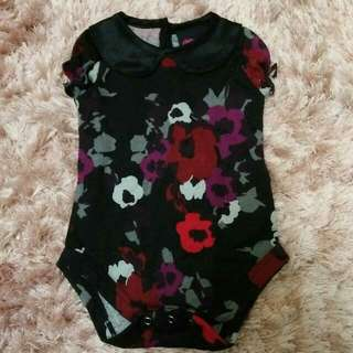 BNWT Floral Baby Romper by DNA (Dynas Nursing Attire)