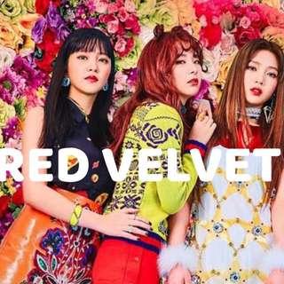 RED VELVET ALBUMS