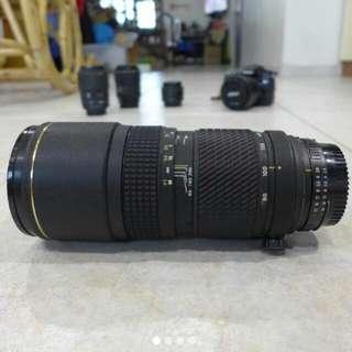 Tokina 80 - 200 F2.8 AT-X Nikon mount