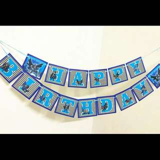 💥 Superheroes Justice League Batman party supplies- Birthday banner / bunting / party deco