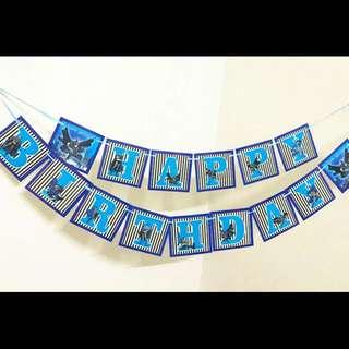 💥 Superheroes Justice League Batman party supplies- Birthday banner / bunting / party deco