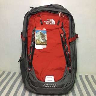 🎒North Face Router Transit Red