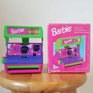 Polaroid 600 Barbie Doll Limited edition