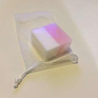 (全場🦋買5送1)🆕玫瑰牛奶美白保濕精華手工皂