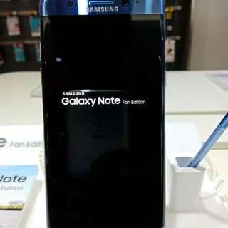 Samsung Galaxy Note FE Credit 3 Menit