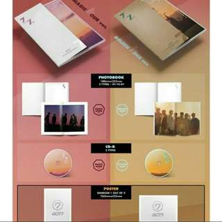 GOT7 7for7 Magic Hour FULL SET+PREORDER BENEFIT