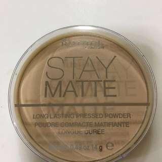 Used- Rimmel Pressed Powder