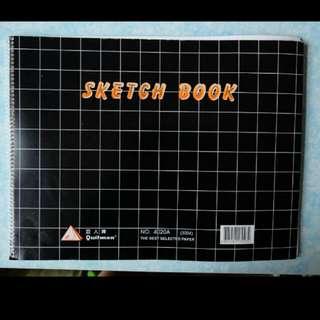 巨人牌 最大size Sketch Book(size: 283x 372mm)
