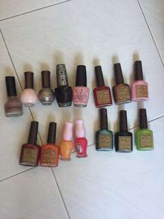 Nail Polish assorted brands