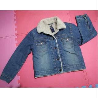 Gap Winter Denim Jacket for Pre teens