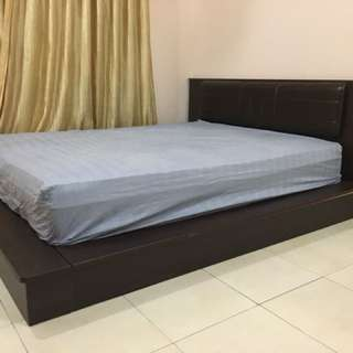 Queen Size Bed Frame (excluding mattress)