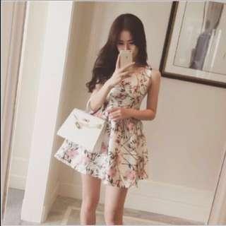 BNWT Floral Peplum Dress
