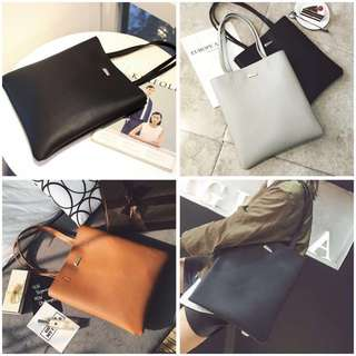 Instock Basic Tote Bag Laptop Bag A4 Size