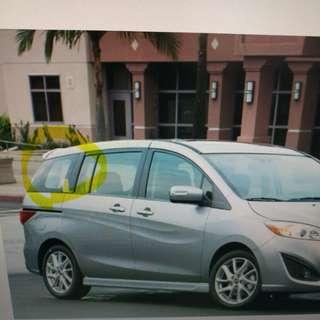 Mazda5 車窗太陽網