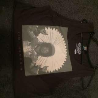Audio fest top size M -Jimi Hendrix