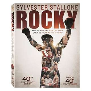Sylvester Stallone Rocky Heavyweight Collection Blu-ray