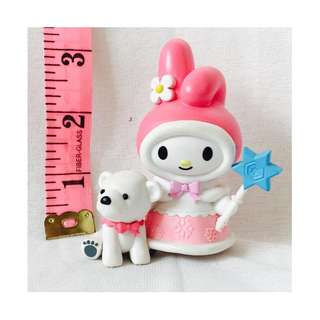 My Melody and her Dog Figure Toy