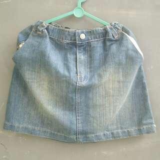 Rok Mini Anak Jeans #MakinTebel