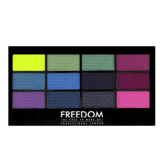 Freedom Makeup London - Chasing Rainbows Palette