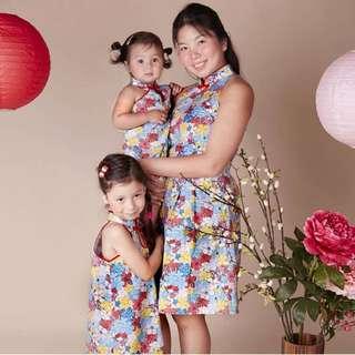 Floral Cheongsam