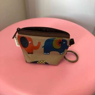Coin pouch with key chain