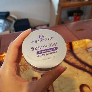 Essence Fix & Matte Translucent Powder
