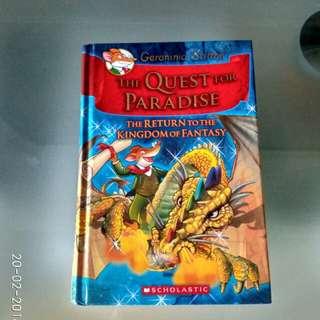 The Quest for Paradise - Geronimo Stilton