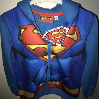 Brand new with tags Superman jacket size 5-6