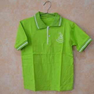 Kaos Polo Hijau Lime