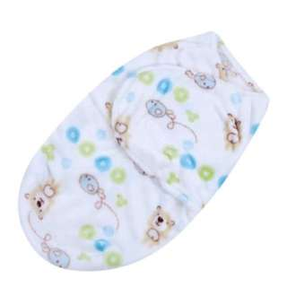 [PO] #1014 Baby Swaddle (Bear prints)