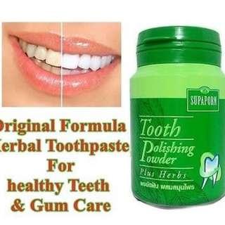 Odol pemutih gigi Supaporn