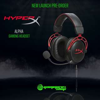 (Pre-Order)HyperX Cloud Alpha Pro Gaming Headset for PC, PS4 & Xbox One, Nintendo Switch (HX-HSCA-RDAS)