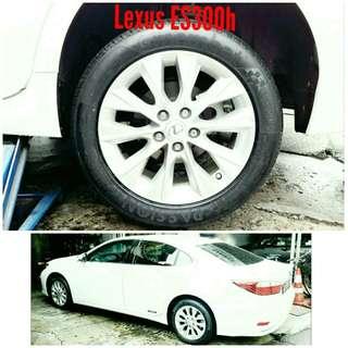 Tyre 215/55 R17 Membat on Lexus ES300h 🐕 Super Offer 🙋♂️