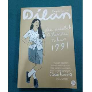 "Preloved Novel "" Dilan 1991 """