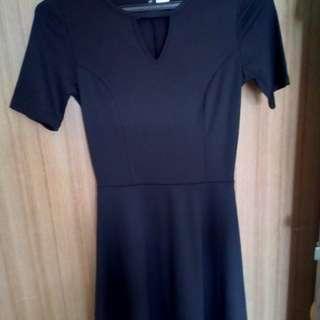 Dress H&M blAck