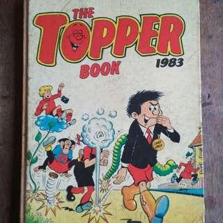 Comic The Topper 1983.