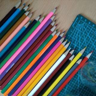 Colour pencils (24)