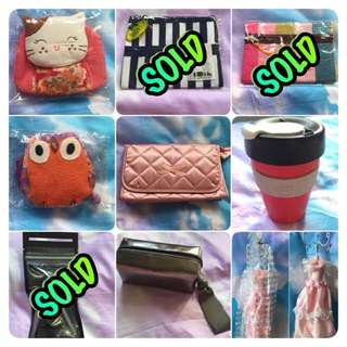 Key holder / Tissue Pouch / Mirror / Cosmetic Bag / Keep Cup / Mac Foundation / Mac Cosmetic Case / Jewellery Holder