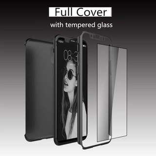 Full Cover iPhone X 8 7 Plus Screen Protection Temper Glass